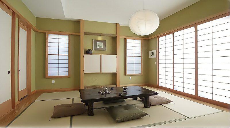 5 Cara Mendekorasi Ruang Keluarga Lesehan Ala Japandi