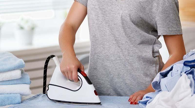 Tips menyetrika pakaian