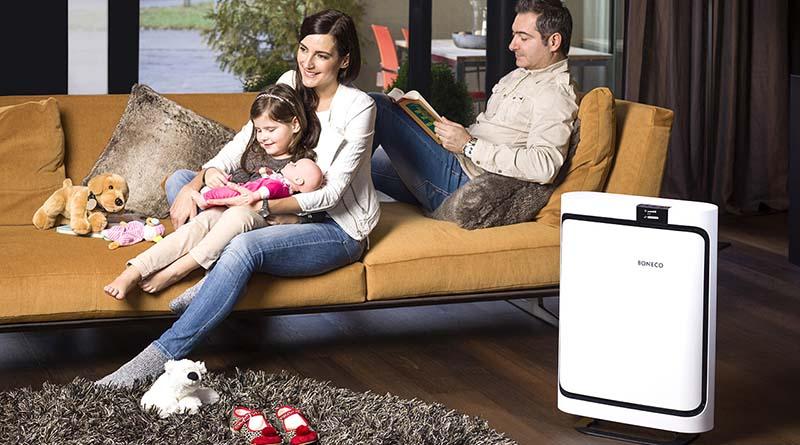 air purifier ruang keluarga