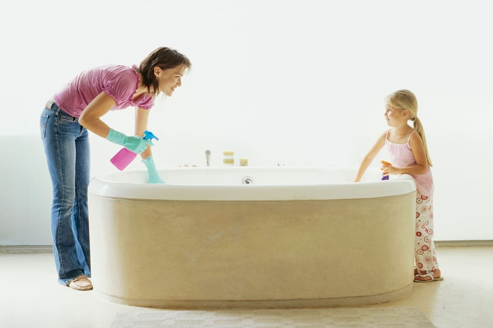 Tips Jitu Membersihkan Bathtub Dengan Hasil Sempurna