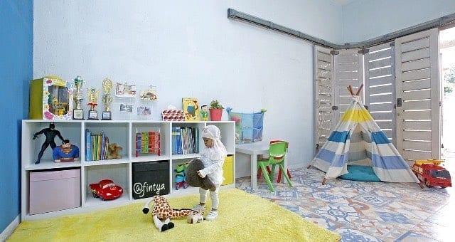 Ide Desain Ruang Bermain Anak Yang Ceria