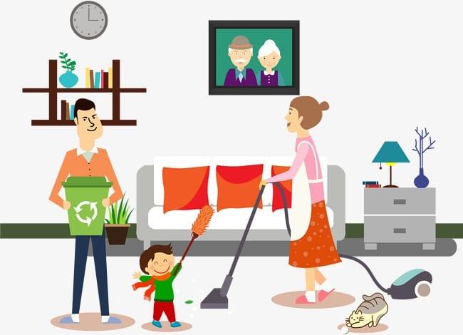 Teknik Pembersihan Rumah Yang Ramah Bagi Anak-Anak