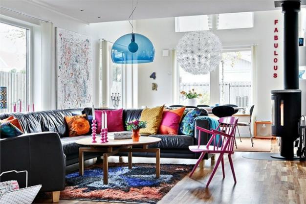 Buat Rumah Anda Berasa Lebih Besar dengan Seni dan Warna!