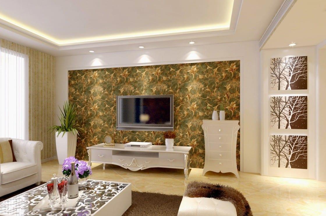 Memilih Wallpaper Cantik Untuk Ruang Keluarga