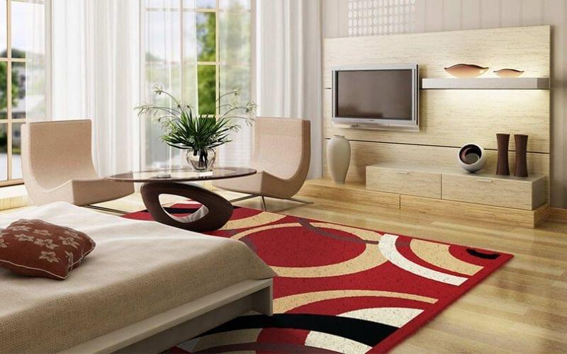 Menghias Ruang Keluarga Dengan Karpet Cantik