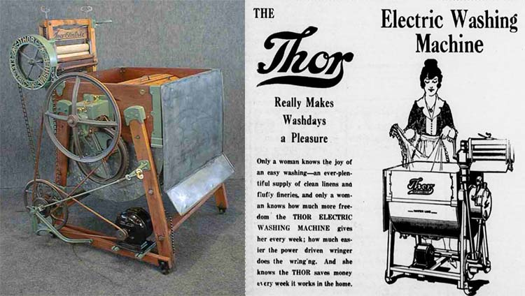 Bagaimana Sih Awal Mula Terciptanya Mesin Cuci?